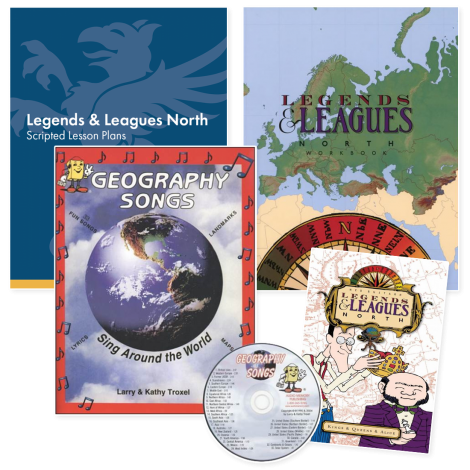 Geography North | Live Course Kit | Veritas Press