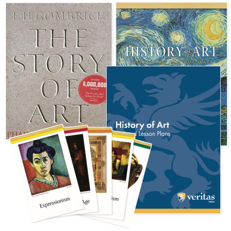 Art History Live Course or You Teach Kit