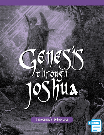 Genesis To Joshua Teacher's Manual (eBook) | Veritas Press