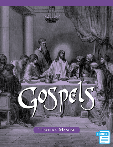 Gospels Teacher's Manual (eBook) | Veritas Press