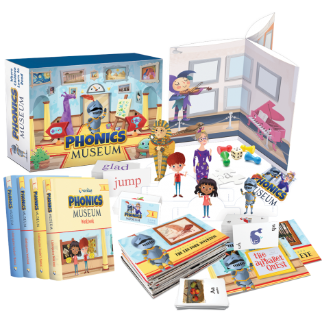 Phonics Museum K/1st Grade Combo Kit - 2nd Edition