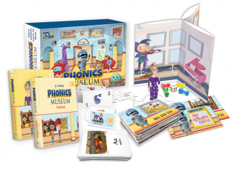 Phonics Museum Kindergarten Kit | 2nd Ed | Veritas Press