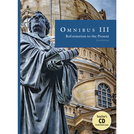 Omnibus III Text & Teacher CD | Veritas Press