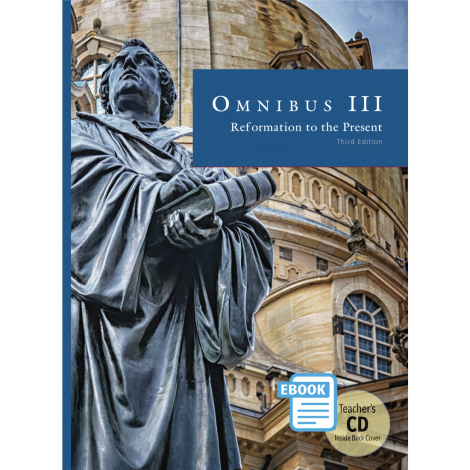 Omnibus III Text and Teacher eBook | Veritas Press