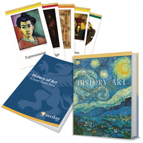 History of Art | You Teach Kit | Veritas Press