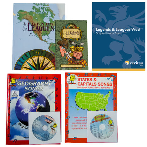 Geography West | You Teach Kit | Veritas Press