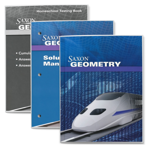 Geometry Saxon | Live Course Kit | Veritas Press