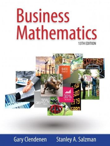 Business Mathematics, 13E