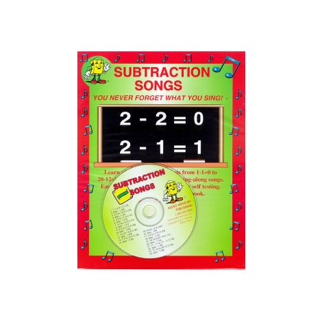 Subtraction Songs CD