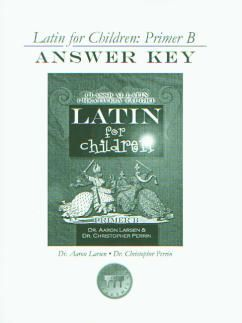 Latin for Children B Ans Key