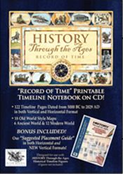 History Through the Ages: Record of Time | Combo on CD-ROM
