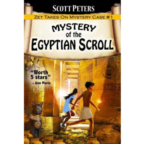 Mystery of the Egyptian Scroll - Kid Detective Zet, Book 1
