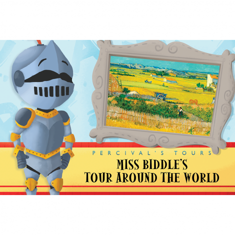 Primer 31: Miss Biddle's Tour Around the World
