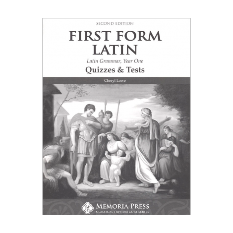 First Form Latin: Latin Grammar Year1: Quizzes and Tests