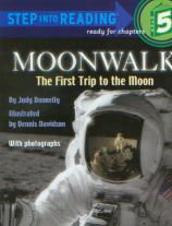 Moonwalk: The First Trip to the Moon - Step Into Reading, Step 5