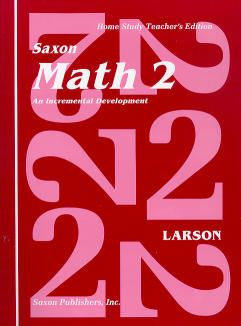 Saxon Math 2 Home Study Teacher's Manual