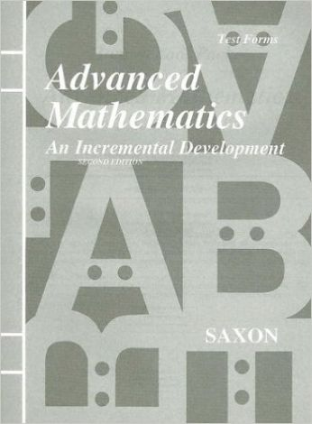Saxon Advanced Math Homeschool Testing Booklet