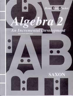 Saxon Algebra 2 Tests and Answer Key, 3rd Ed.