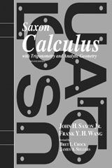 Calculus I Saxon Homeschool Kit w/ Solutions Manual, 2nd Ed.