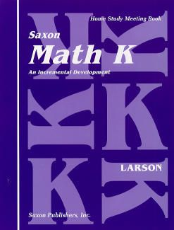 Saxon Math K, Meeting Book