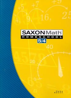 Saxon Math 54 Homeschool Student Text, 3rd Ed.