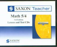 Saxon Math 54 Homeschool Teacher CD's, 3rd Ed.