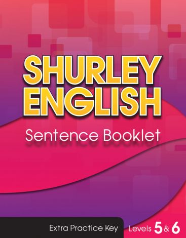 Shurley Levels 5 & 6 Sentence Booklet Key