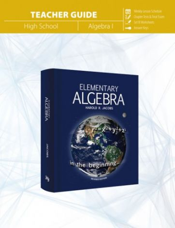 Elementary Algebra Teacher's Guide | Veritas Press
