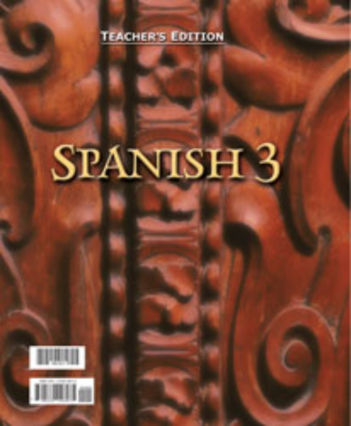 Spanish 3 Teacher's Edition - BJU
