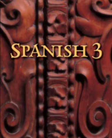 Spanish 3 Student Text - BJU - Language