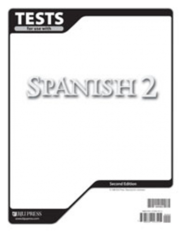 Spanish 2 Tests (2nd Ed.)