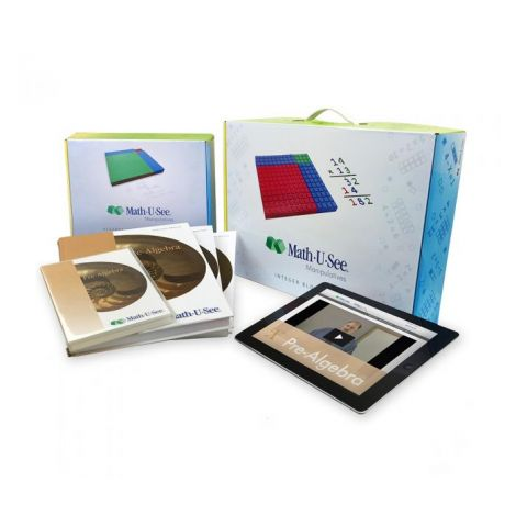 Math 6 Math-U-See Live Course Kit