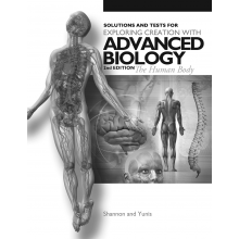 Apologia Advanced Biology Solutions and Tests 2nd Ed