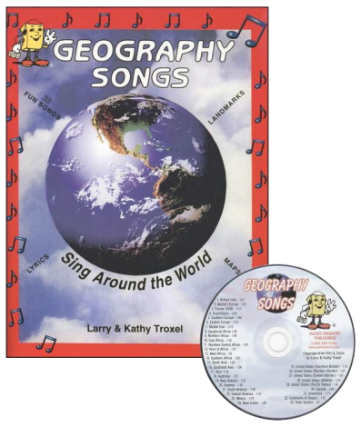 Geography Songs CD | Veritas Press