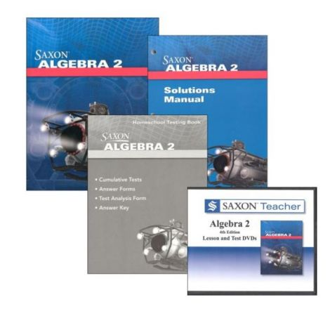 Algebra II Saxon | You Teach Kit | Veritas Press