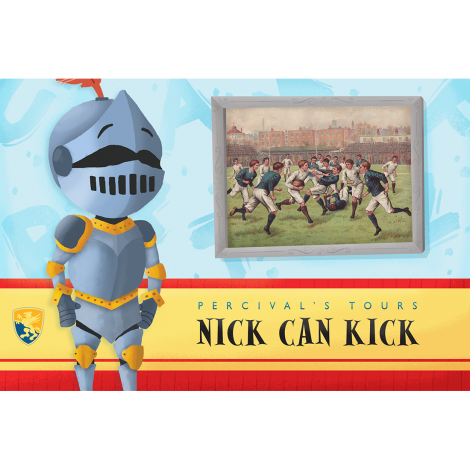 Primer 7: Nick Can Kick