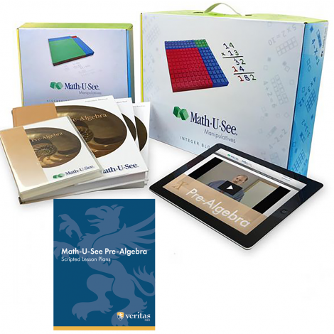 Math 6 - Math-U-See You Teach Kit