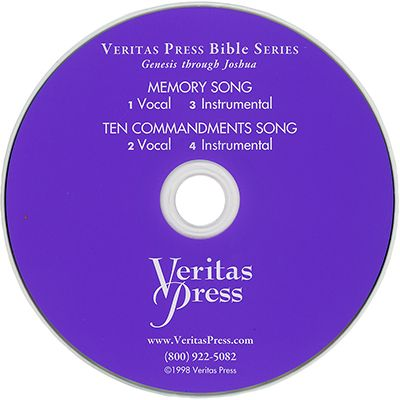 Genesis to Joshua Memory Song CD | Veritas Press