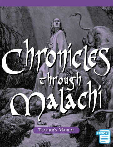 Chronicles to Malachi Teacher's Manual | eBook