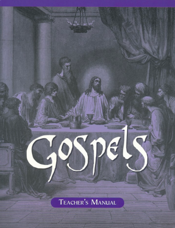 Gospels Teacher Manual | Veritas Press