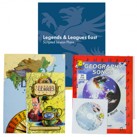 Geography East | You Teach Kit | Veritas Press