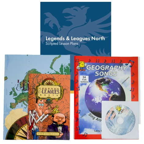 Geography North | You Teach Kit | Veritas Press