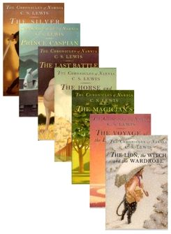 The Chronicles of Narnia (set of all 7) (1S)