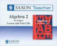 Saxon Algebra 2 Teacher CD's, 3rd Ed.