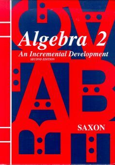 Algebra II Saxon Home Study Kit | 3rd Ed | Veritas Press