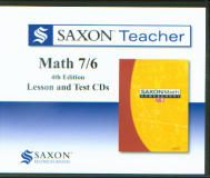 Saxon Math 76 Homeschool Teacher CD's, 4th Ed.