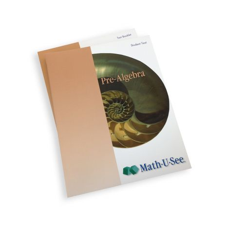 Math-U-See Pre-Algebra Student Pack | Veritas Press
