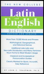 The New College Latin & English Dictionary