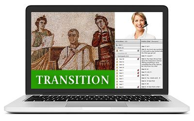 Latin Transition I - Summer A - Live Online Course 2017-2018