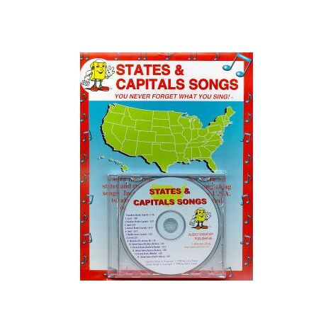 States & Capitals Songs CD